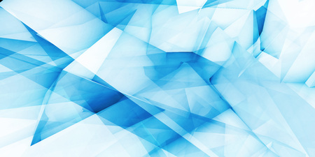 Blue Futuristic Abstract Background as a Concept Imagens