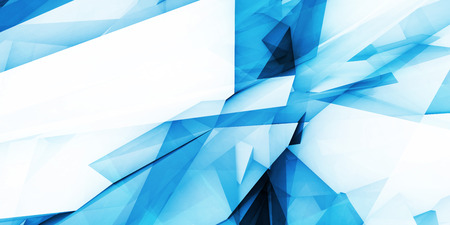 Blue Technology Abstract Background as a Concept
