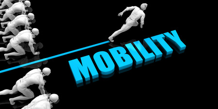 Superior Mobility Concept with Competitive Advantage Reklamní fotografie