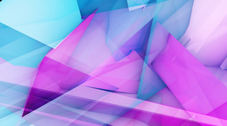 Exciting Concept Abstract Background with Geometric Shapes
