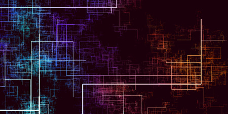 Data Grid Network Abstract Background as a Technology Concept