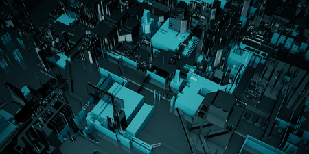 Integrated Circuit Closeup as a Technology Development Concept