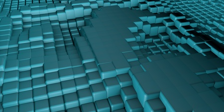 3D Cubes Background Abstract art