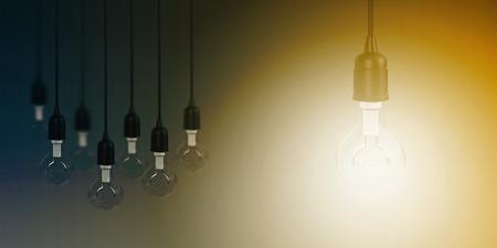 Business Innovation as a Creative Concept Abstract Art Banco de Imagens