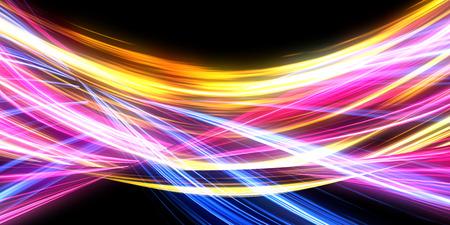 Concepto abstracto de fondo claro con energía pulsante