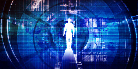 Portal tecnológico para acceder a más información como un portal virtual