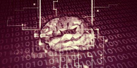 Machine Learning AI Intelligence Artificielle Concept Abstrait