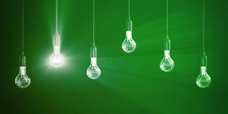Idée gagnante ou entreprise en tant que concept