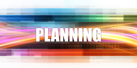 Planning Corporate Concept Exciting Presentation Slide Art
