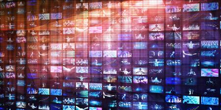 Internet Security Network Protection Software as Concept Banco de Imagens