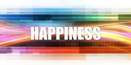 Happiness Corporate Concept Exciting Presentation Slide Art Imagens