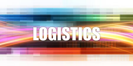 Logistics Corporate Concept Exciting Presentation Slide Art