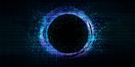 Design Element Exploding Circle for Marketing Background 스톡 콘텐츠