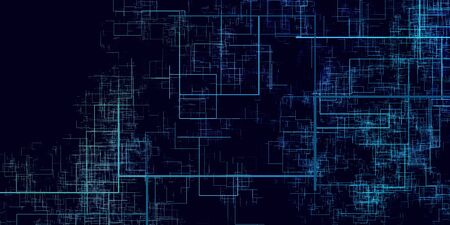 Futuristic Technology Abstract Background as a Pattern Concept