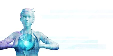 Digital Marketing and Automated Platform Management as Concept Stok Fotoğraf