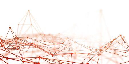 Futuristic Science as a Digital Background Art Stock Photo