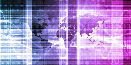 Global Distribution Network for Delivery and Transport Zdjęcie Seryjne