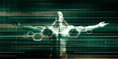 Embracing New Technology Through Digital Transformation Stock Photo