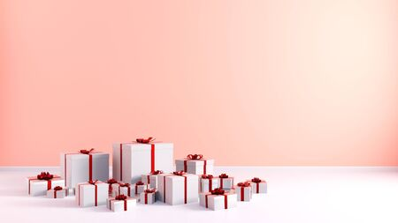 Gifts Background as a Present Wallpaper Abstract Art Zdjęcie Seryjne