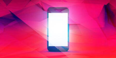 Cool New App Digital Advertisement Handphone Display