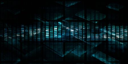 Technology Abstract Background with Tech Startup Industry Concept