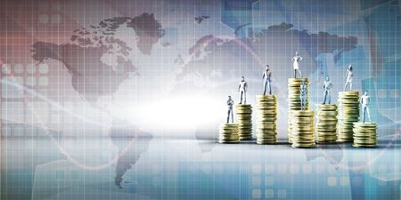 Digital Banking Platform Services and Fintech Concept