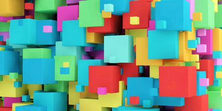 Modern Geometric Pattern for Hipster Brochure Presentation