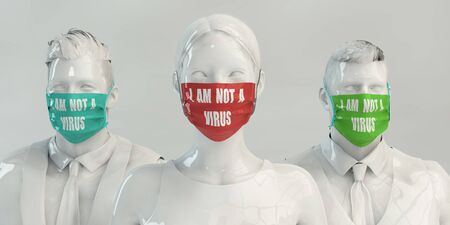 I Am Not a Virus Fighting Against Racism
