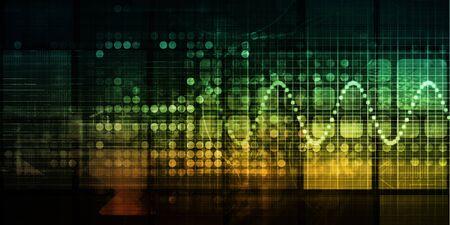 Big Data Analytics Complex Data Processing Program Foto de archivo