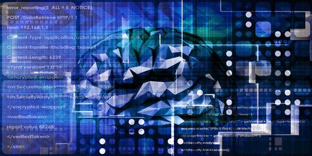 Brain Technology Advanced Science Concept Abstract Background