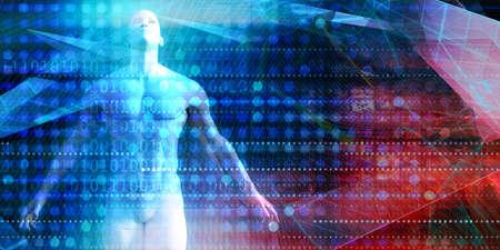 Digitalization Digital Technology Transformation Disruption Industry Concept
