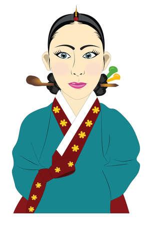 hanbok: Korean hanbok Royal