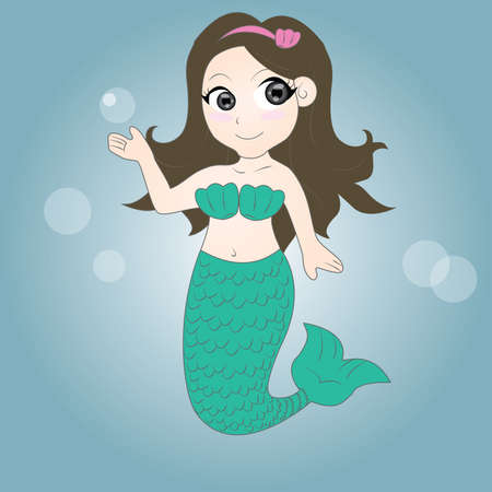 cute mermaid photo