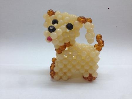 white dog: Toy of a dog Stock Photo