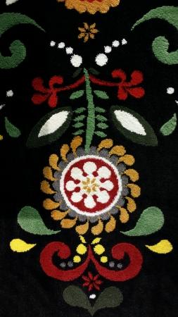 plante design: Belle conception plante tapis Banque d'images