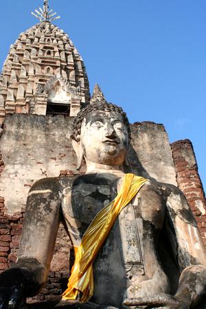 sukhothai: Statue of the buddha at Sukhothai Historical Park