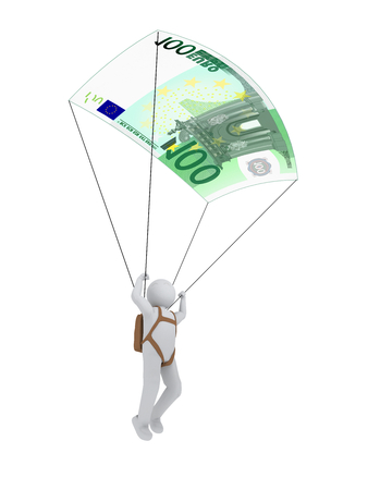 humane: 3d human with euro-parachute