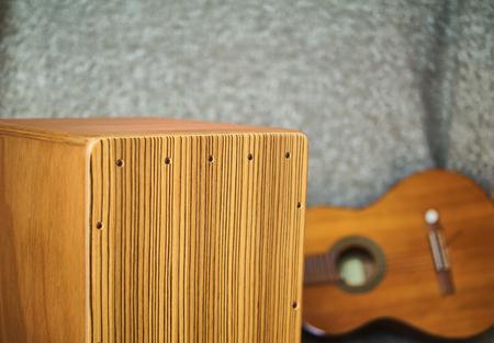 Cajon and guitar Stok Fotoğraf - 66040753