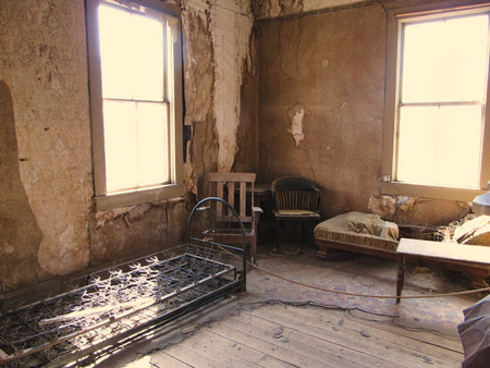 abandoned room: Abandoned Room of the Ghost town Bodie