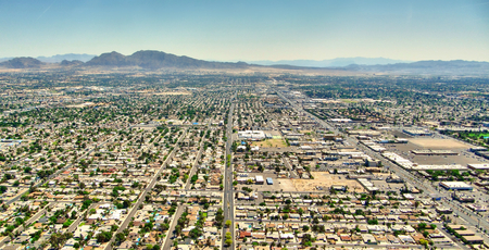 aereal: Las Vegas Nevada - Aereal view