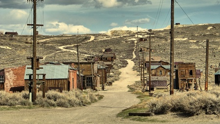 goldrush: The ghost town of Bodie - California