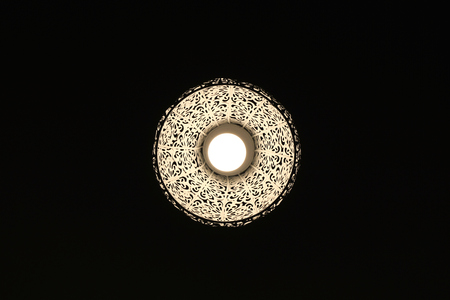 In to the Dark a lamp with nice patter.