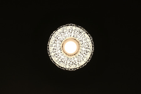 In to the Dark a lamp with nice patter