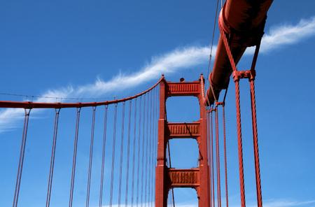The Golden Gate Bridge in San Francisco Stok Fotoğraf