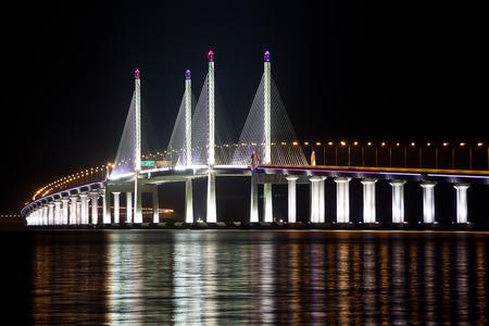 2nd Penang Bridge Light Up