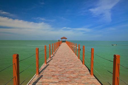 jetty: Beautiful Jetty in Penang Malaysia