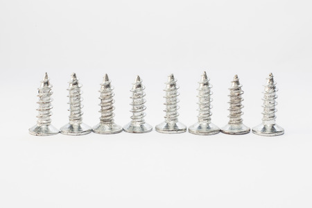small group of objects: Screws for industry and manufacturing Stock Photo