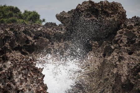 nusa: Holiday in Bali, Indonesia - Nusa Dua Water Blow