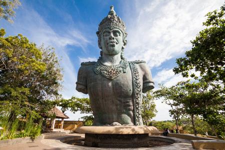 Holiday in Bali, Indonesia - Garuda Wisnu Kencana Cultural Park 스톡 콘텐츠