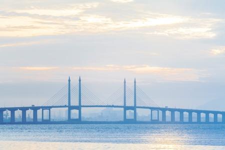 Penang Bridge view, George Town Penang, Malaysia